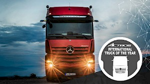 Der neue Actros. Truck of the Year 2020.